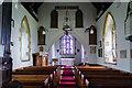TA1701 : Interior, St Nicholas' church, Cuxwold by J.Hannan-Briggs