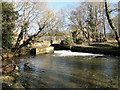 TL8395 : Sluice at Mill Carr, part of the River Wissey by Adrian S Pye