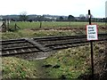 SO8879 : Pedestrian Level Crossing near Blakedown by Chris Whippet