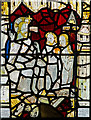 SE6051 : Detail of west window, All Saints' church, Pavement, York by J.Hannan-Briggs