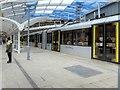 SJ8499 : Manchester Victoria Metrolink Platform (February 2015) by David Dixon