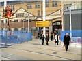 SJ8499 : Refurbishment of Victoria Station, February 2015 by David Dixon