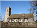 TL8195 : Ickburgh St. Peter's church by Adrian S Pye