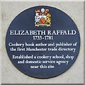SJ8398 : Elizabeth Raffald Commemorative Plaque, Exchange Square by David Dixon