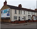 SU1586 : Xperia advert on a suburban corner in Swindon by Jaggery