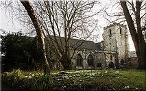 SE5951 : Holy Trinity church, Micklegate, York by Julian P Guffogg