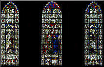 SE5951 : West window, Holy Trinity, Micklegate, York by Julian P Guffogg