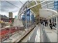 SJ8499 : Victoria Station Refurbishment (February 2015) by David Dixon