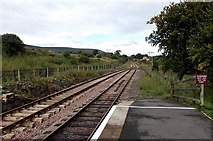 SO2508 : Passengers must not pass this point at Blaenavon High Level railway station by Jaggery