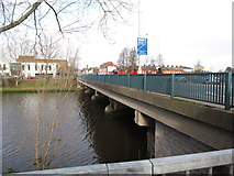J3472 : The Ormeau Bridge from the south side by Eric Jones