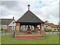 TM2297 : War Memorial at Saxlingham Nethergate by Adrian S Pye