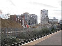TQ3265 : Demolition by Croydon station (2) by Stephen Craven