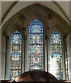 TQ3181 : Temple Church - East Window by Rob Farrow