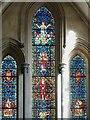TQ3181 : Temple Church - Chancel south aisle east window by Rob Farrow