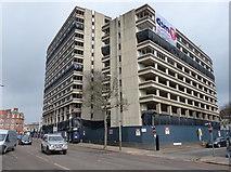 SK5804 : The disused New Walk Centre by Mat Fascione