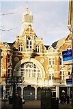 SZ1191 : Bournemouth: entrance to Royal Arcade, Boscombe by Jonathan Hutchins