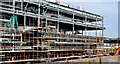 J3272 : The new Railway Stand, Windsor Park, Belfast - February 2015(2) by Albert Bridge