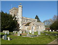 TL2437 : St Vincent's Church, Newnham by Humphrey Bolton