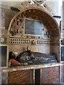 TQ3181 : Temple Church - Tomb of Sir Edmund Plowden by Rob Farrow