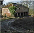 SE9917 : Old Barn on Saxby Hill by David Wright