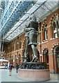 TQ3082 : St Pancras - The Meeting Place by Rob Farrow