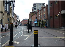 SK5804 : King Street in Leicester by Mat Fascione