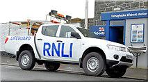 J5980 : RNLI lifeguard pick-up truck, Donaghadee - February 2015(1) by Albert Bridge