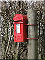 TM4149 : GR postbox near Richmond Cottages by Adrian S Pye