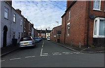 SJ8545 : Newcastle-under-Lyme: Legge Street from Occupation Street by Jonathan Hutchins