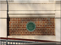 TQ2780 : Tyburn Convent, Hyde Park Place, W2 - Plaque by John Salmon