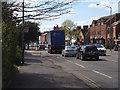 SP2865 : Westbound traffic in Coten End, Warwick by Robin Stott