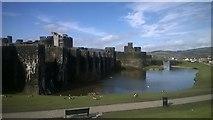 ST1587 : Caerphilly Castle by Helen