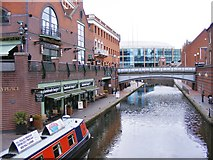 SP0686 : Brindley Place View by Gordon Griffiths
