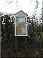 TM1276 : Thrandeston Village Notice Board by Adrian Cable
