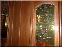 SD5095 : St Oswald, Burneside: memorial (iv) by Basher Eyre