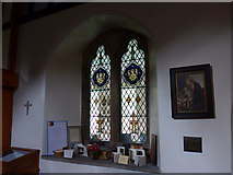 SD5095 : St Oswald, Burneside: stained glass window (E) by Basher Eyre