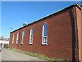 TQ4176 : St Nicholas church, Kidbrooke - south side by Stephen Craven