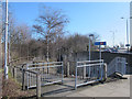 TQ4075 : Access to Kidbrooke station by Stephen Craven