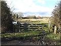 TM1176 : Entrance to Thrandeston Marsh by Geographer