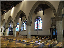 TQ2550 : St Mary's, Reigate: south arcade by Stephen Craven
