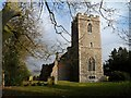 TL8250 : All Saints' church Boxted by Bikeboy