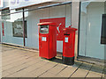 TM5593 : Two postboxes by Adrian S Pye