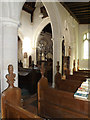 TM1176 : Inside St.Margaret's Church by Adrian Cable