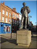 SO8554 : Elgar statue by Philip Halling
