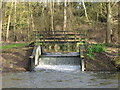 TL8314 : Weir on River Blackwater, Little Braxted by Roger Jones