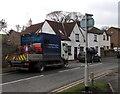 SO6713 : Severn Trent Water lorry in Littledean by Jaggery