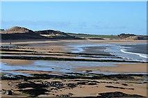 NU2422 : Sandy beach at Embleton Bay by Jim Barton