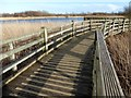 TA0323 : Walkway in Water's Edge Country Park by Graham Hogg