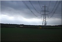 SK1409 : Pylon. Potter's Thatch by N Chadwick