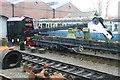 SK0307 : Chasewater Light Railway - steam crane by Chris Allen